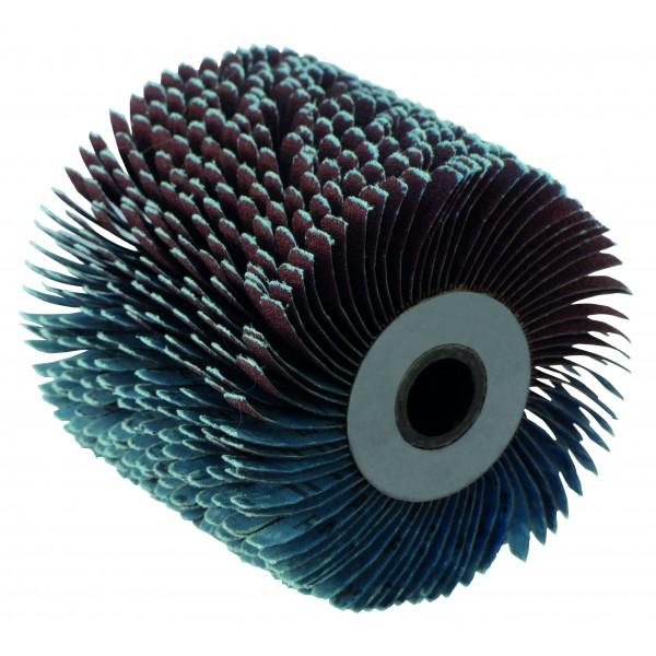 Abrazyvinis karpytas šlifavimo cilindras. Cilindras  (plxd) 100x120mm